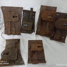 Antigüedades: CERRADURAS MUY ANTIGUAS SIN LLAVES!. Lote 235495095