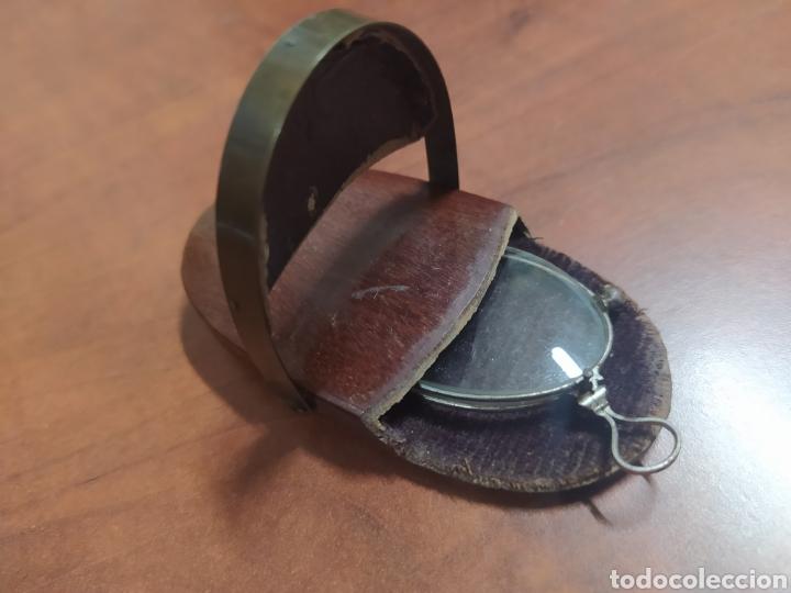 Antigüedades: Lentes Quevedo con funda original. - Foto 3 - 235573640