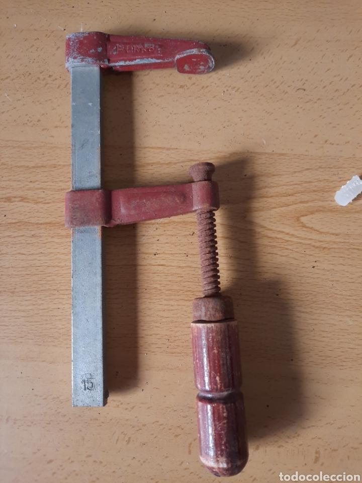 ANTIGUO SARGENTO MARCA HURKO (Antigüedades - Técnicas - Herramientas Profesionales - Carpintería )