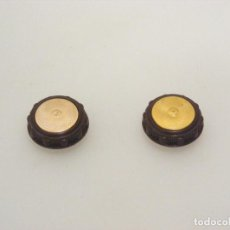 Antiquités: 2 BOTONES DE MANDO PARA RADIO ANTIGUA - BUEN ESTADO - VER FOTOS.. Lote 235627805