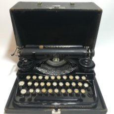 Antigüedades: MÁQUINA DE ESCRIBIR UNDERWOOD STANDARD PORTABLE TYPEWRITER AÑO 1914. Lote 235630315