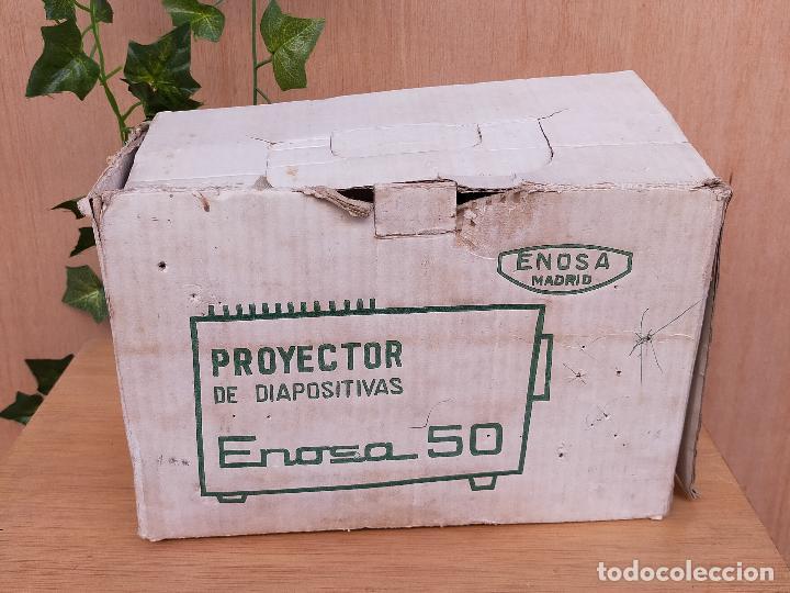 Antigüedades: PROYECTOR ENOSA EN CAJA - Foto 3 - 235804160