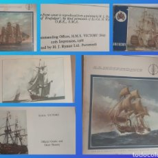 Antigüedades: HMS VICTORY, S.S INDEPENDENCE Y S.S CONSTITUTION. AÑO 1968. Lote 235871120
