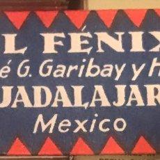 Antigüedades: CUCHILLA DE AFEITAR RARÍSIMA EL FÉNIX GUADALAJARA MÉXICO HOJA. Lote 235993755