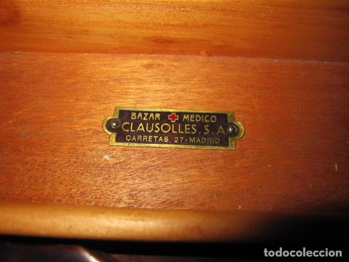 Antigüedades: Maletín 231 lentes optometría optometrista óptica circa 1900 Clausolles Madrid + publicidad 1901 - Foto 16 - 235999790