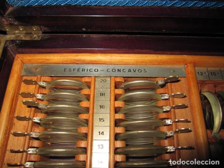Antigüedades: Maletín 231 lentes optometría optometrista óptica circa 1900 Clausolles Madrid + publicidad 1901 - Foto 18 - 235999790