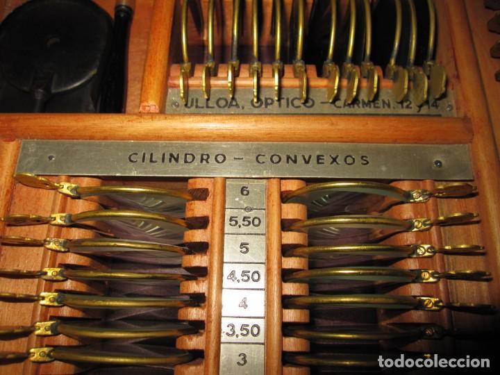 Antigüedades: Maletín 231 lentes optometría optometrista óptica circa 1900 Clausolles Madrid + publicidad 1901 - Foto 22 - 235999790