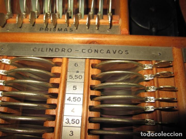 Antigüedades: Maletín 231 lentes optometría optometrista óptica circa 1900 Clausolles Madrid + publicidad 1901 - Foto 23 - 235999790