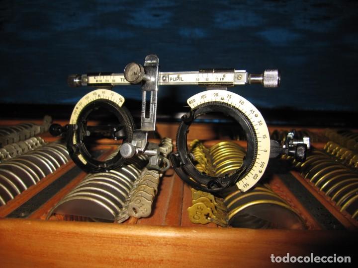 Antigüedades: Maletín 231 lentes optometría optometrista óptica circa 1900 Clausolles Madrid + publicidad 1901 - Foto 31 - 235999790