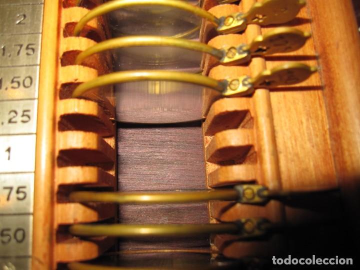 Antigüedades: Maletín 231 lentes optometría optometrista óptica circa 1900 Clausolles Madrid + publicidad 1901 - Foto 33 - 235999790