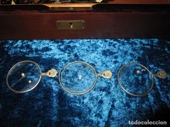 Antigüedades: Maletín 231 lentes optometría optometrista óptica circa 1900 Clausolles Madrid + publicidad 1901 - Foto 34 - 235999790