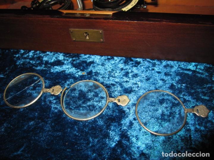 Antigüedades: Maletín 231 lentes optometría optometrista óptica circa 1900 Clausolles Madrid + publicidad 1901 - Foto 35 - 235999790