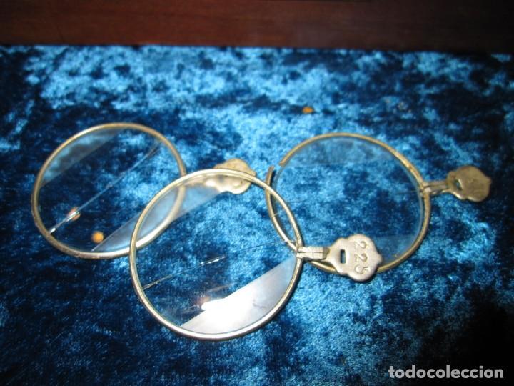 Antigüedades: Maletín 231 lentes optometría optometrista óptica circa 1900 Clausolles Madrid + publicidad 1901 - Foto 37 - 235999790