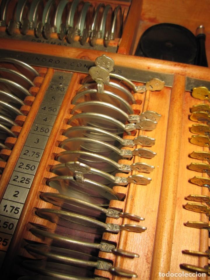 Antigüedades: Maletín 231 lentes optometría optometrista óptica circa 1900 Clausolles Madrid + publicidad 1901 - Foto 38 - 235999790