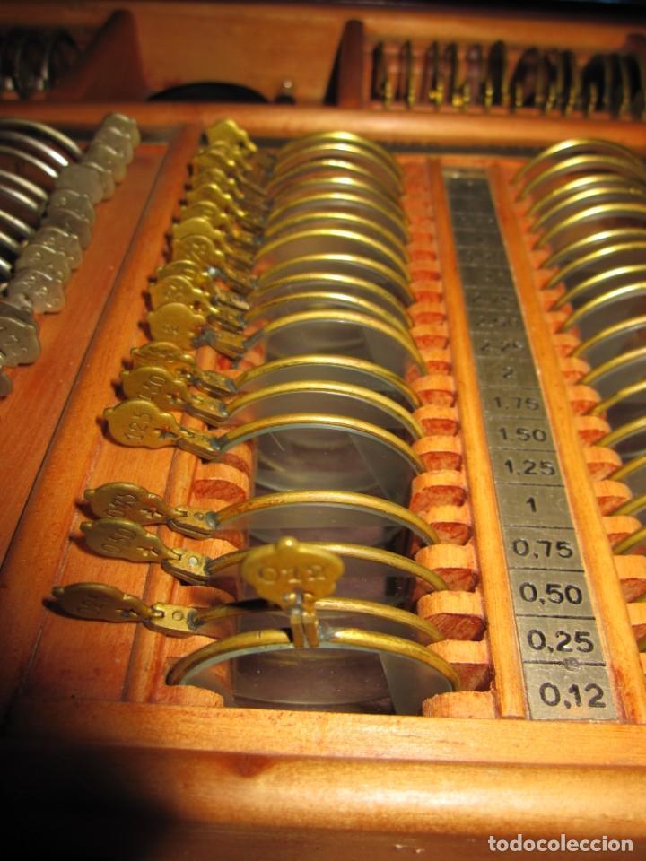 Antigüedades: Maletín 231 lentes optometría optometrista óptica circa 1900 Clausolles Madrid + publicidad 1901 - Foto 41 - 235999790