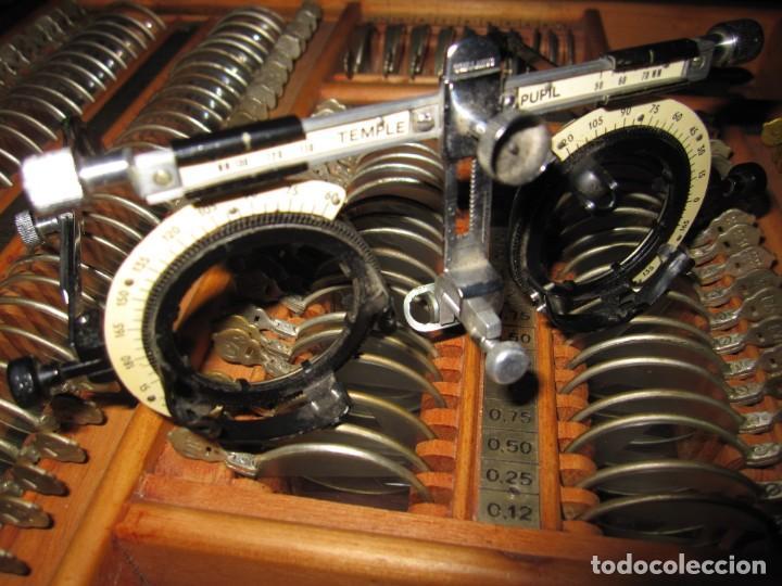Antigüedades: Maletín 231 lentes optometría optometrista óptica circa 1900 Clausolles Madrid + publicidad 1901 - Foto 44 - 235999790