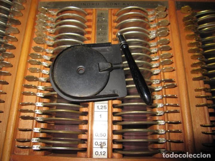 Antigüedades: Maletín 231 lentes optometría optometrista óptica circa 1900 Clausolles Madrid + publicidad 1901 - Foto 46 - 235999790