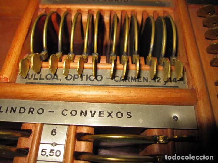 Antigüedades: Maletín 231 lentes optometría optometrista óptica circa 1900 Clausolles Madrid + publicidad 1901 - Foto 47 - 235999790