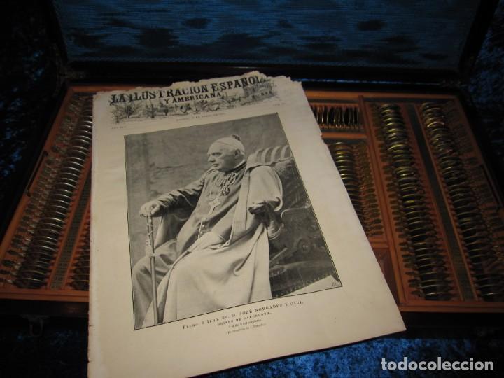 Antigüedades: Maletín 231 lentes optometría optometrista óptica circa 1900 Clausolles Madrid + publicidad 1901 - Foto 51 - 235999790