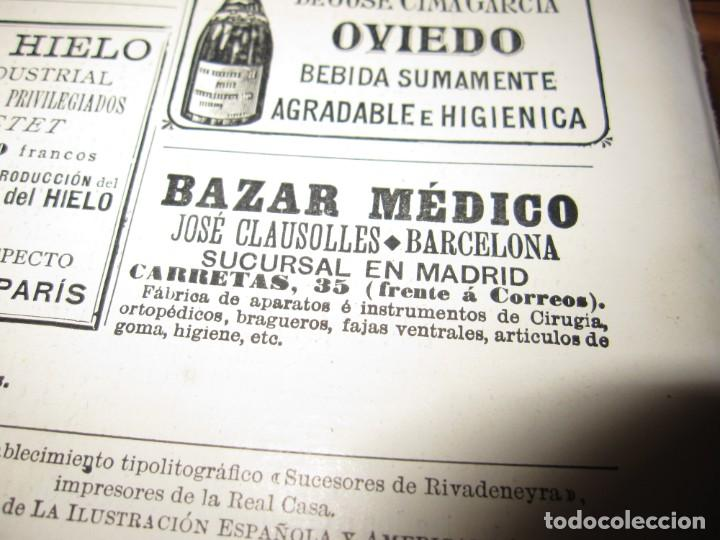 Antigüedades: Maletín 231 lentes optometría optometrista óptica circa 1900 Clausolles Madrid + publicidad 1901 - Foto 54 - 235999790