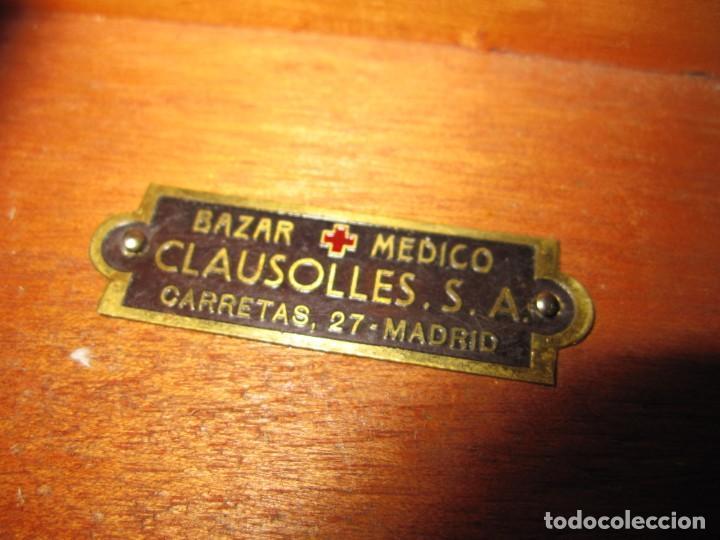Antigüedades: Maletín 231 lentes optometría optometrista óptica circa 1900 Clausolles Madrid + publicidad 1901 - Foto 55 - 235999790