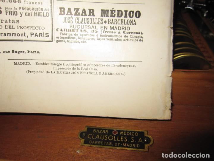 Antigüedades: Maletín 231 lentes optometría optometrista óptica circa 1900 Clausolles Madrid + publicidad 1901 - Foto 58 - 235999790