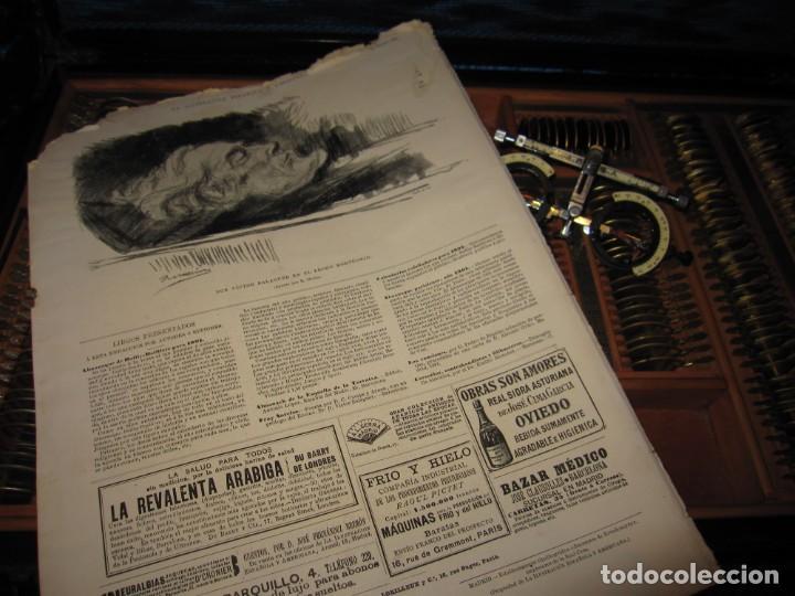 Antigüedades: Maletín 231 lentes optometría optometrista óptica circa 1900 Clausolles Madrid + publicidad 1901 - Foto 59 - 235999790