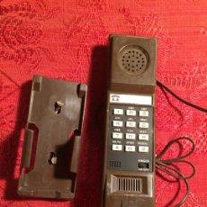 Teléfonos: ANTIGUO TELEFONO EN CAJA ORIGINAL TIPO GONDOLA DE PARED AÑOS 70. Lote 236005355