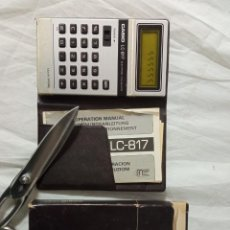 Antigüedades: CALCULADORA CASIO LC 817. Lote 236296605