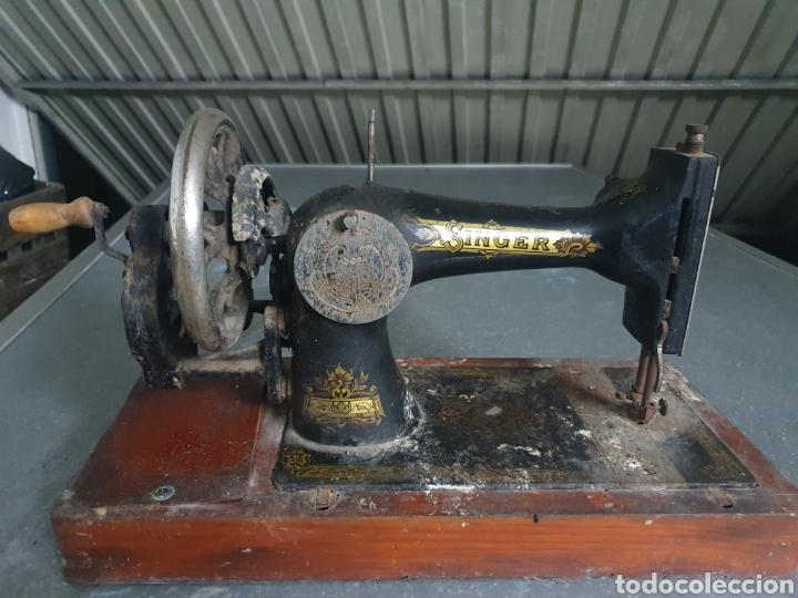 Antigüedades: Máquina de coser SINGER - Foto 2 - 236434295