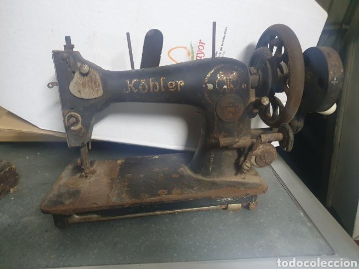 MÁQUINA DE COSER KOBLER (Antigüedades - Técnicas - Máquinas de Coser Antiguas - Otras)