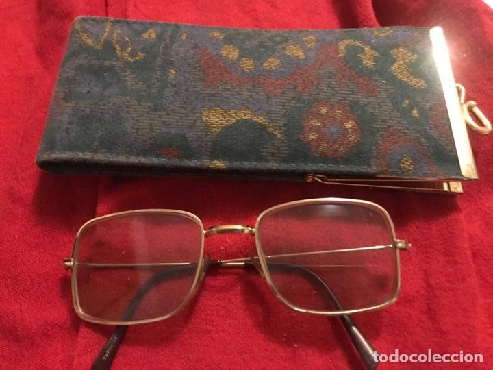 ANTIGÜAS GAFAS , VINTAGE - RETRO CON SU FUNDA (Antigüedades - Técnicas - Instrumentos Ópticos - Gafas Antiguas)