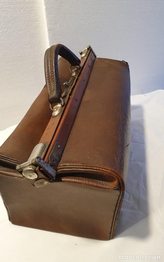 Antigüedades: ANTIGUO MALETIN DE MEDICO - Foto 3 - 236488185
