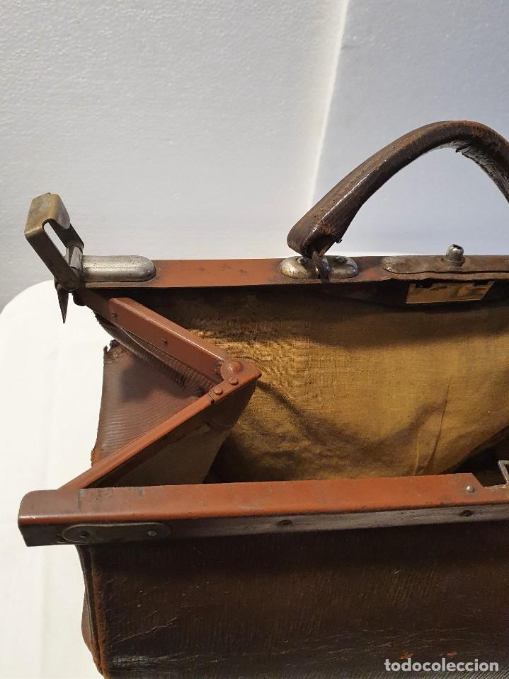Antigüedades: ANTIGUO MALETIN DE MEDICO - Foto 4 - 236488185