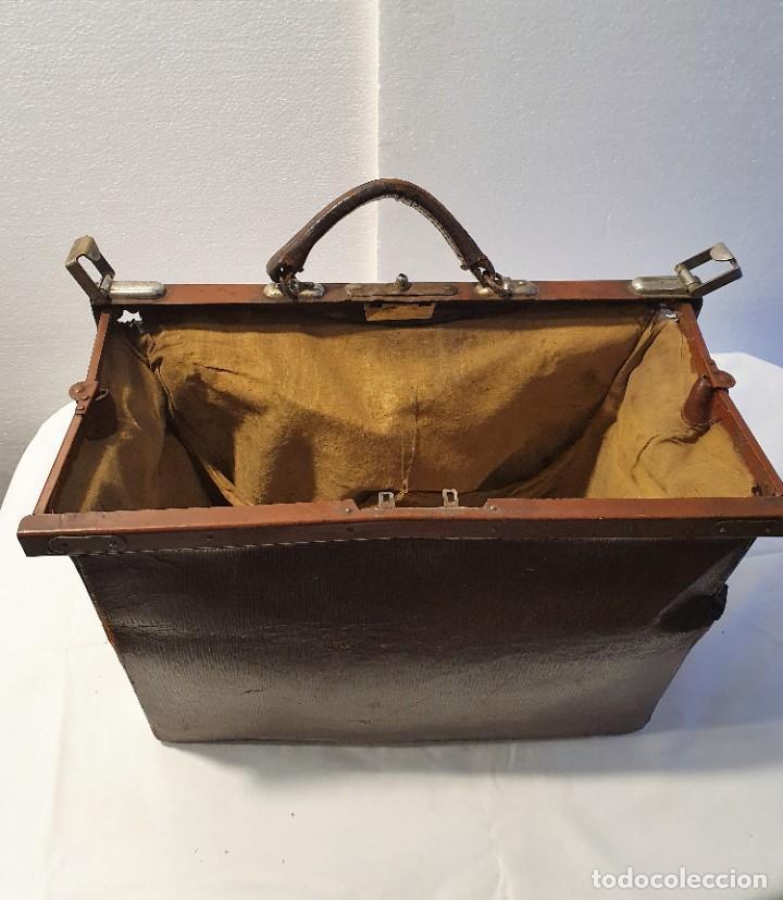 Antigüedades: ANTIGUO MALETIN DE MEDICO - Foto 5 - 236488185