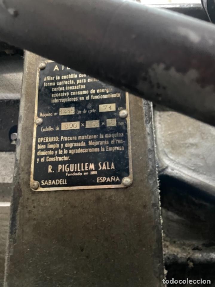 Antigüedades: Imprenta encuadernacion guillotinas - Foto 6 - 236495565
