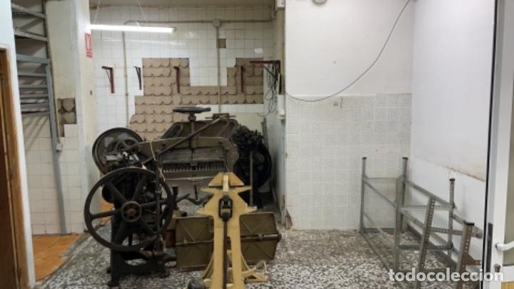 Antigüedades: Imprenta encuadernacion guillotinas - Foto 14 - 236495565