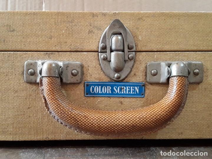 Antigüedades: Color Screen. Pantalla portátil; primera mitad del siglo XX. - Foto 3 - 236506220