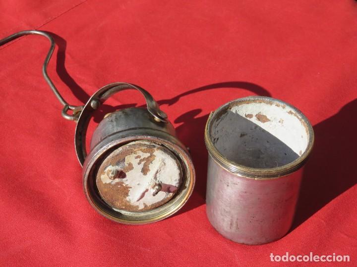 Antigüedades: Carburo minero - Foto 2 - 236507550