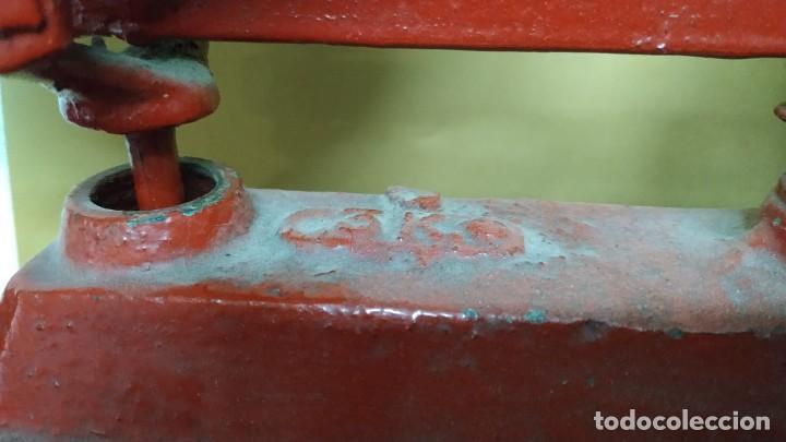 Antigüedades: Antigua Balanza de platos SIMPLEX - 3kg - Años 40 - Foto 6 - 236508920
