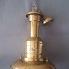 Antigüedades: LAMPARA NAUTICA DE TECHO. Lote 236729865