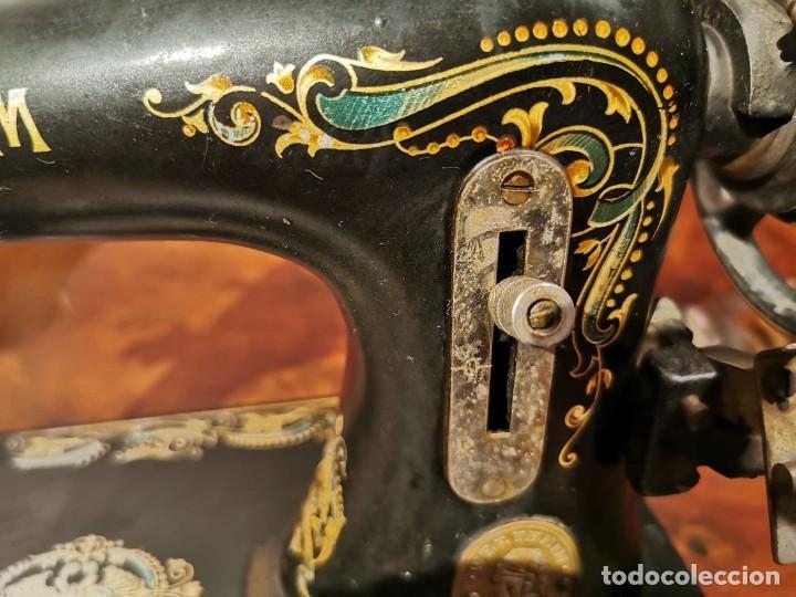 Antigüedades: PRECIOSA CABEZA DE MAQUINA DE COSER WERTHEIM - Foto 5 - 236787320