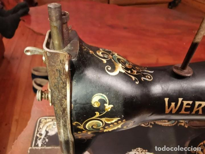 Antigüedades: PRECIOSA CABEZA DE MAQUINA DE COSER WERTHEIM - Foto 6 - 236787320