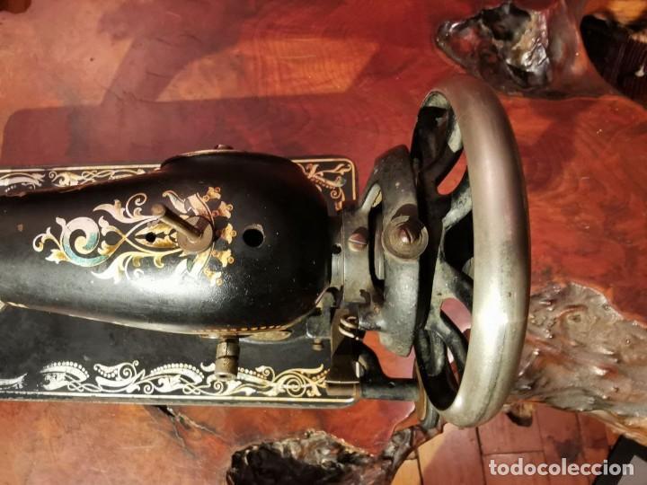 Antigüedades: PRECIOSA CABEZA DE MAQUINA DE COSER WERTHEIM - Foto 8 - 236787320