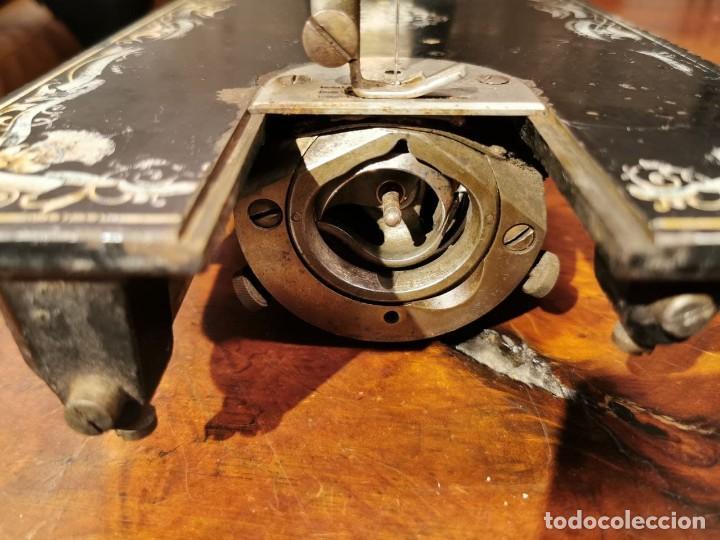 Antigüedades: PRECIOSA CABEZA DE MAQUINA DE COSER WERTHEIM - Foto 11 - 236787320