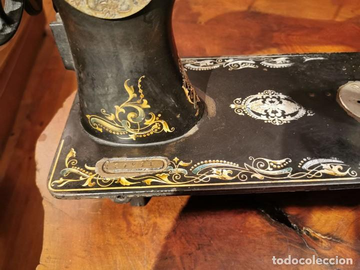 Antigüedades: PRECIOSA CABEZA DE MAQUINA DE COSER WERTHEIM - Foto 14 - 236787320