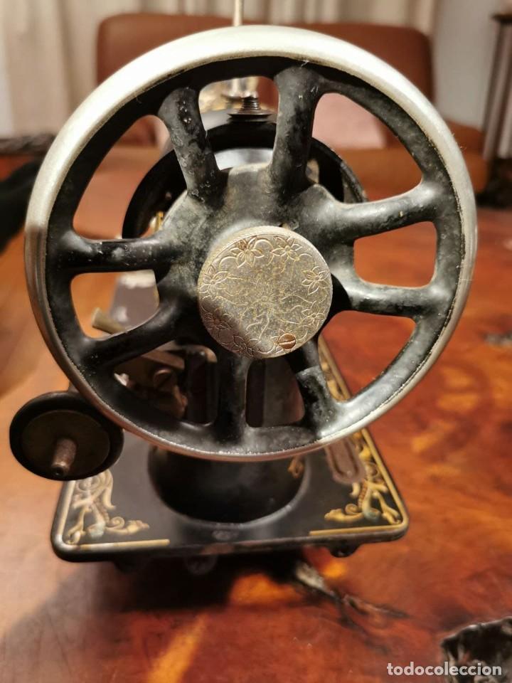 Antigüedades: PRECIOSA CABEZA DE MAQUINA DE COSER WERTHEIM - Foto 15 - 236787320