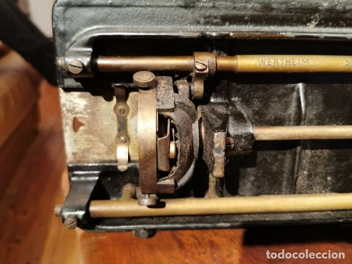 Antigüedades: PRECIOSA CABEZA DE MAQUINA DE COSER WERTHEIM - Foto 16 - 236787320