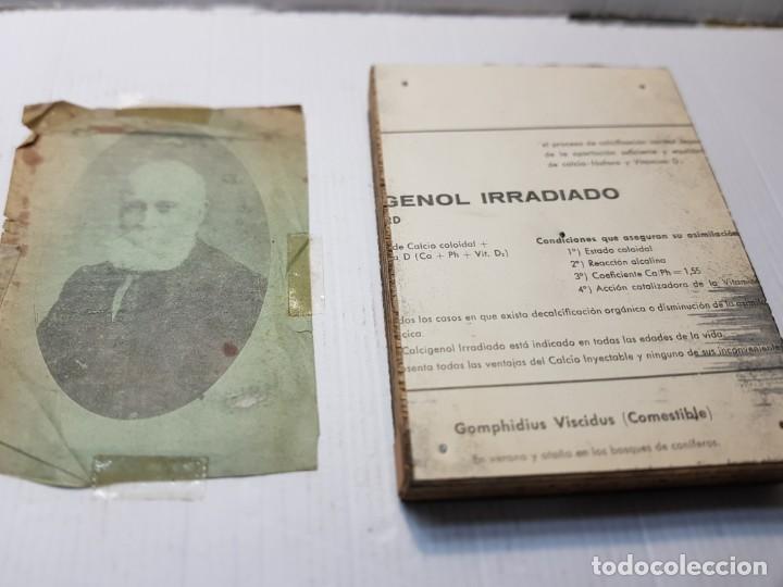 Antigüedades: Tampon Metalico-Cliche Imprenta en bronce Fotografía antigua con su negativo - Foto 4 - 236815425