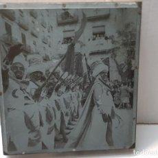 Antigüedades: TAMPON METALICO-CLICHE IMPRENTA METALICO FOTOGRAFÍA FIESTAS MOROS Y CRISTIANOS ALCOY. Lote 236818015